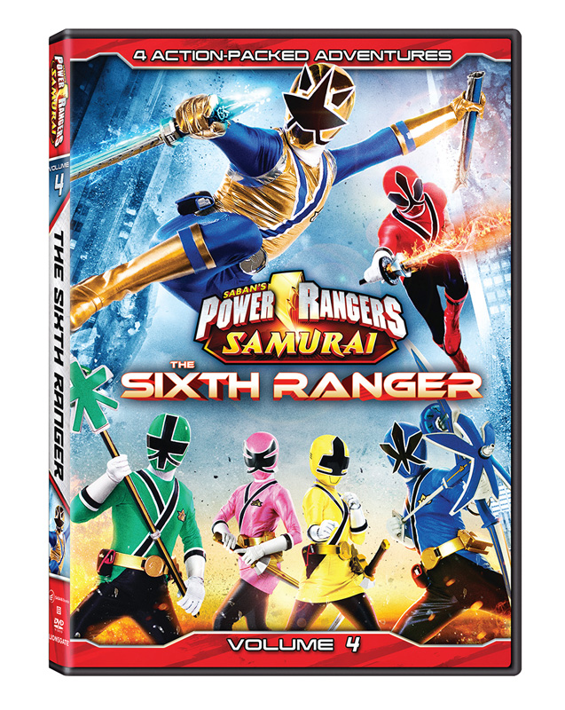 power rangers samurai the sixth ranger volume 4. Black Bedroom Furniture Sets. Home Design Ideas
