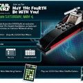 Star Wars Day Free LEGO Build at Toys R Us