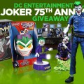 DC Entertainment: The Joker 75th Anniversary Giveaway