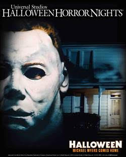 Michael Myers Comes To Universal Studios Halloween Horror Nights