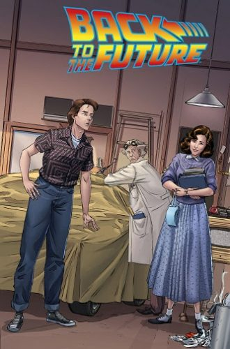 exclusive variant cover edition of the Back to the Future #1