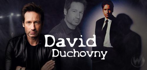X-Files David Duchovny, Fox Mulder