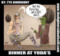 Lighter Side of Scifi: Luke Use a Fork